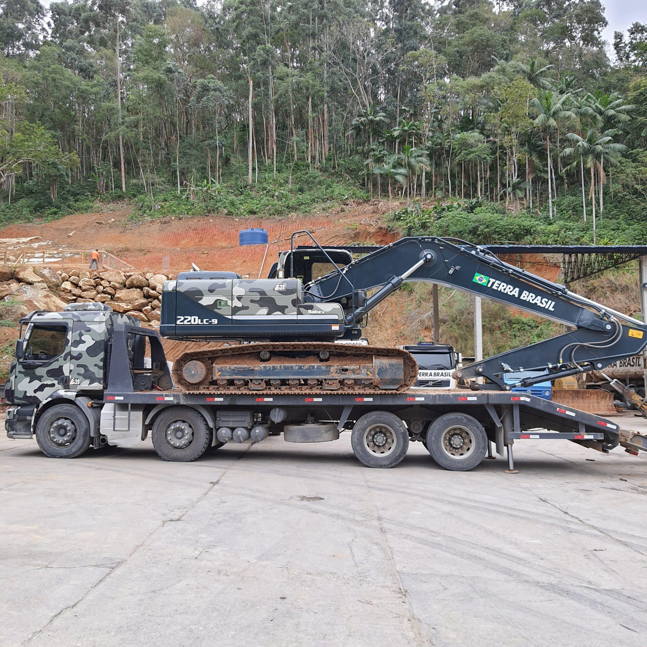 Conheça um pouco mais dos equipamentos utilizados nas obras de terraplenagem